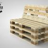 Euro Pallet Bench