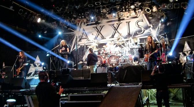Axxis 25 Anniversary Zeche 28.12.2014